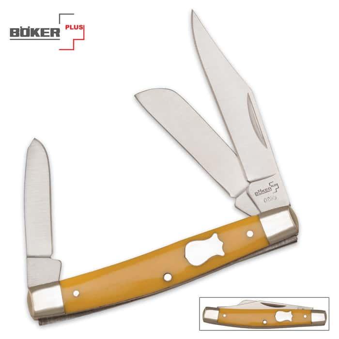 Boker Plus Mini Stockman Folding Knife