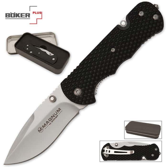 Boker Magnum First Responder Pocket Knife