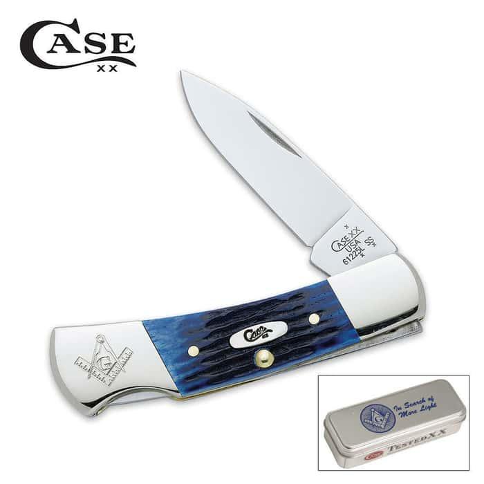 Case Masonic Lockback Pocket Knife