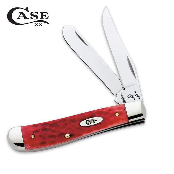 Case Red Bone Trapper Pocket Knife