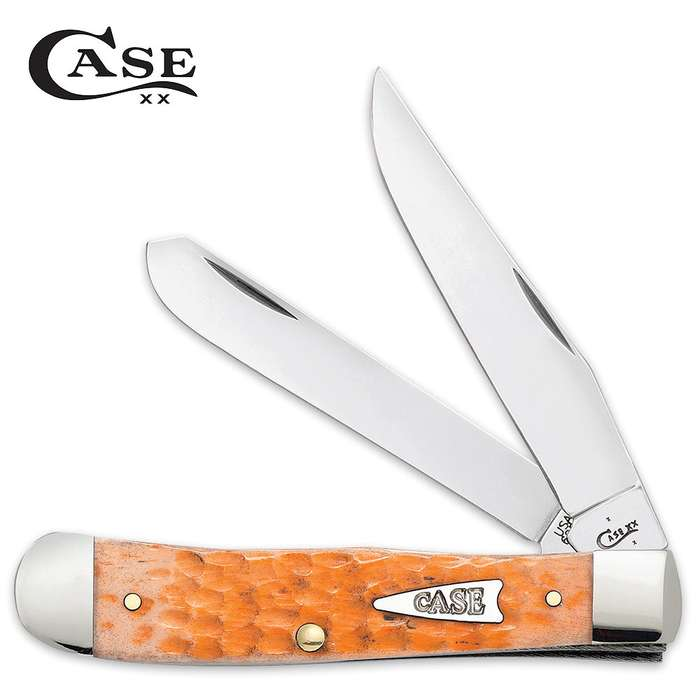 Case Peach Bone Trapper Pocket Knife