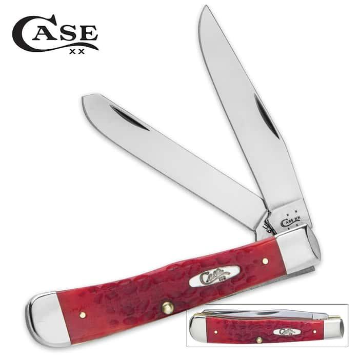 Case Red Trapper Pocket Knife