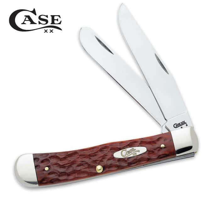 Case Chestnut CV Trapper Pocket Knife