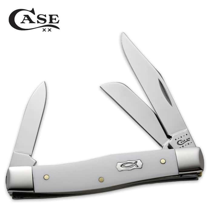 Case Ichthus Stockman Pocket Knife