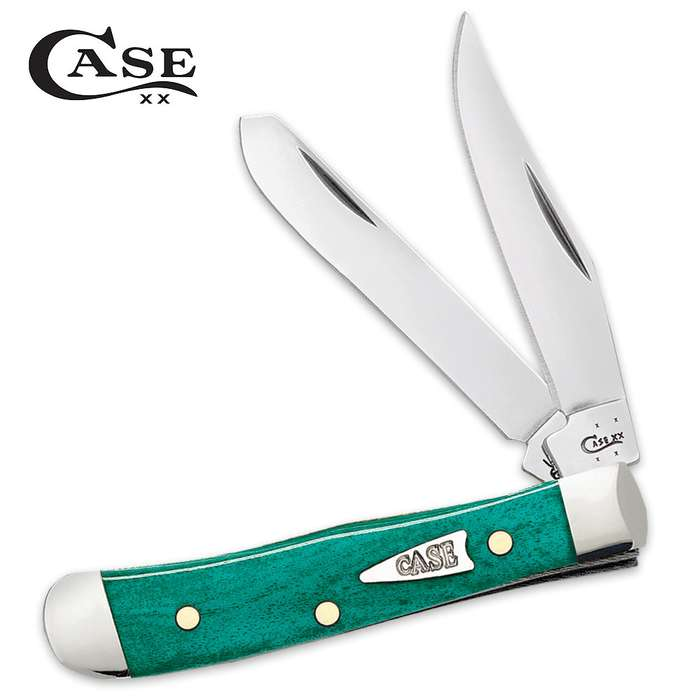 Case Smooth Jade Bone Tiny Trapper