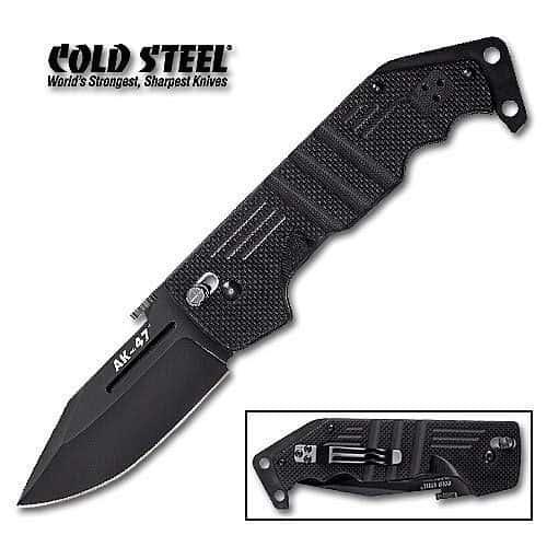 Cold Steel Black AK47 Folding Knife