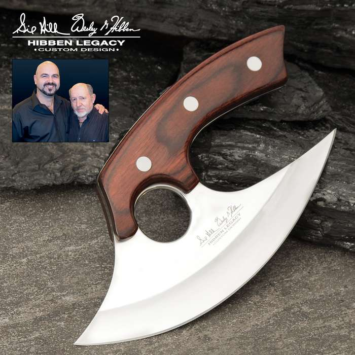 Knife Masters Gil and Wes Hibben continue to put out innovative designs, which become legends in their own right