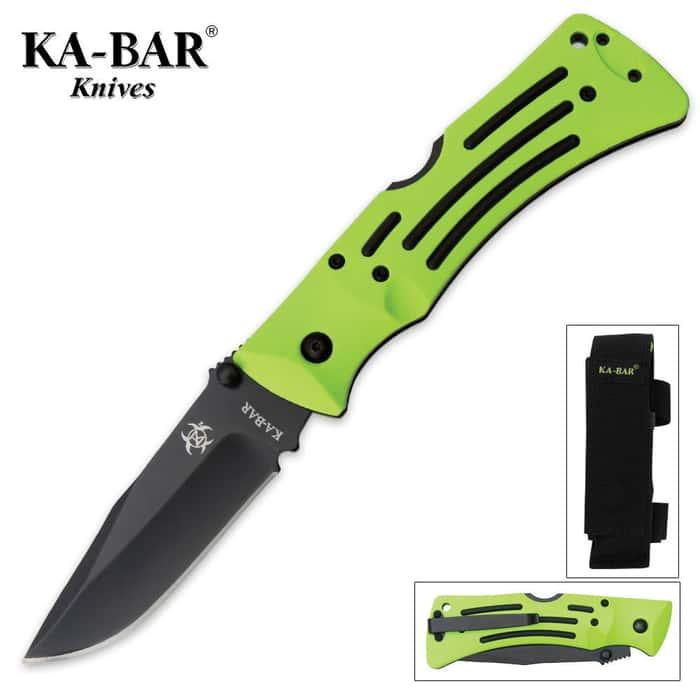 KA-BAR Zombie Killer ZK Mule Pocket Knife