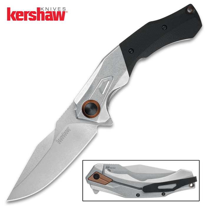 The Kershaw Payout Pocket Knife is a larger knife sure to draw admiring glances