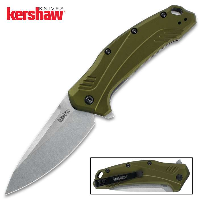 Kershaw takes the popular Link to a higher level with CPM 20CV blade steel and a new machined and anodized aluminum handle