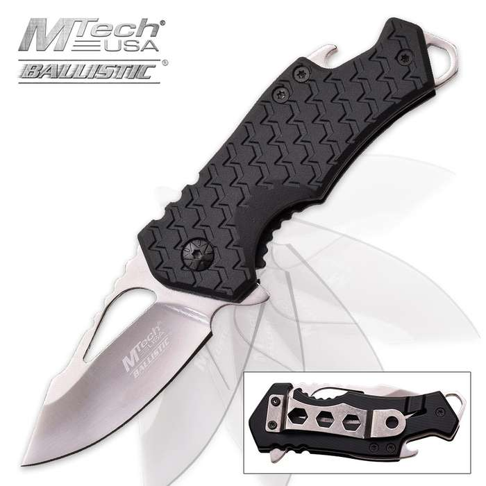MTech USA Bottle Opener With Mirror Blade