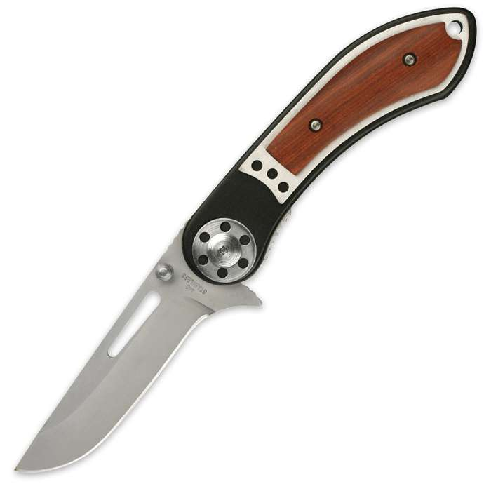 Spring Assist Power Stroke Folding Knife