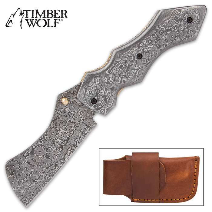 The Timber Wolf Knights Watch Pocket Knife is attractive and eye-catching, yet it is also a heavy-duty workhorse EDC
