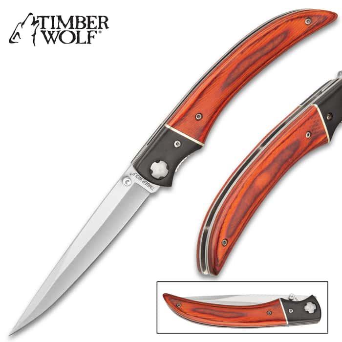 Timber Wolf Gentleman's Pocket Knife