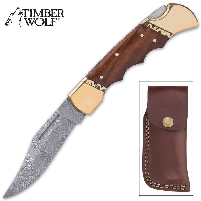 This knife has so many attractive design elements and intricate details that it looks and feels just like a custom-made knife