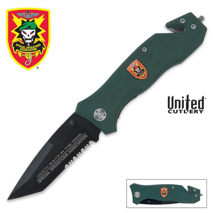 SOA MT1 Tactical Folding Knife
