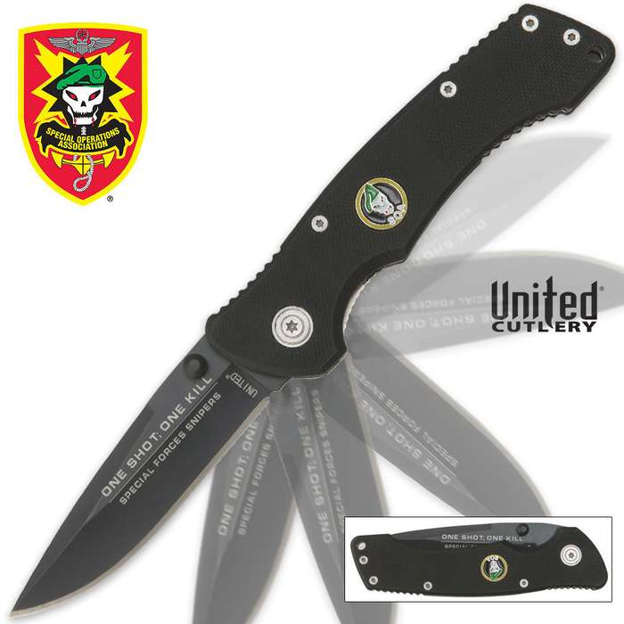 United Cutlery S.O.A. One Shot One Kill Assisted Opening Pocket Knife