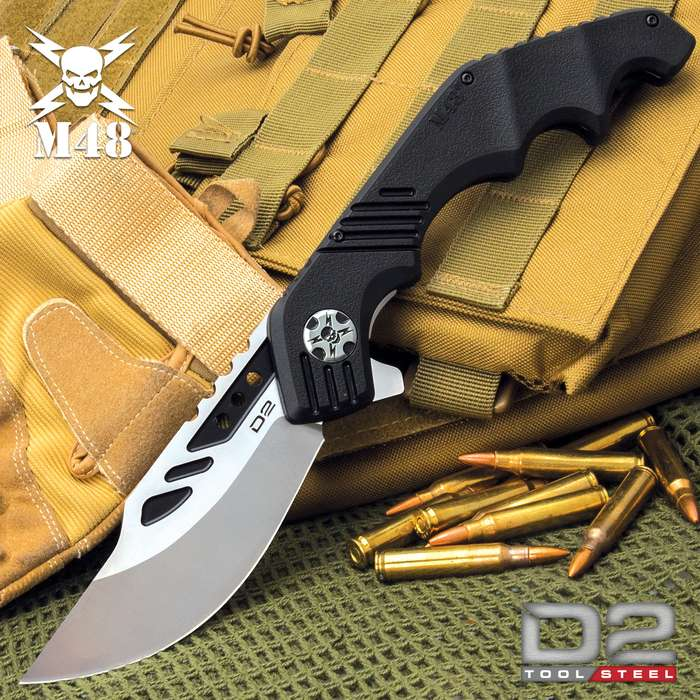 The M48 Warthawg Pocket Knife is everything that you're looking for in a workhorse everyday carry, especially, if your every day is a tactical mission