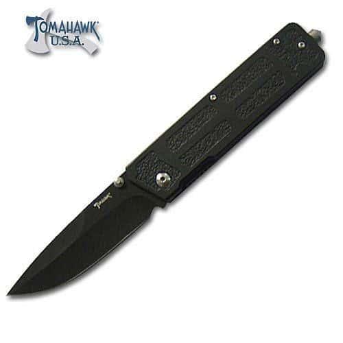 All Black Shadow Folding Knife