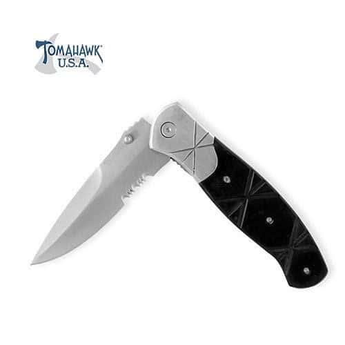 Criss Cross Drop Point Folding Knife