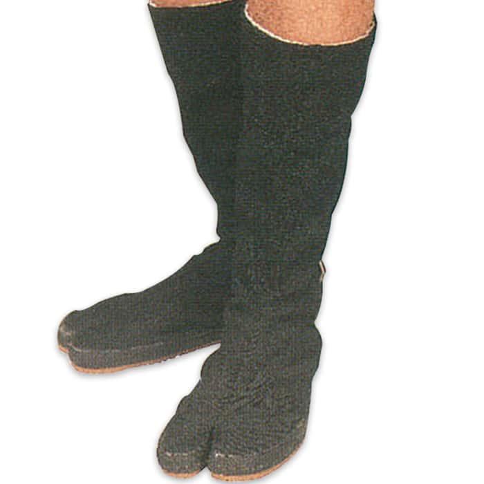Traditional Ninja Tabi Boots with Split Toe Size 11