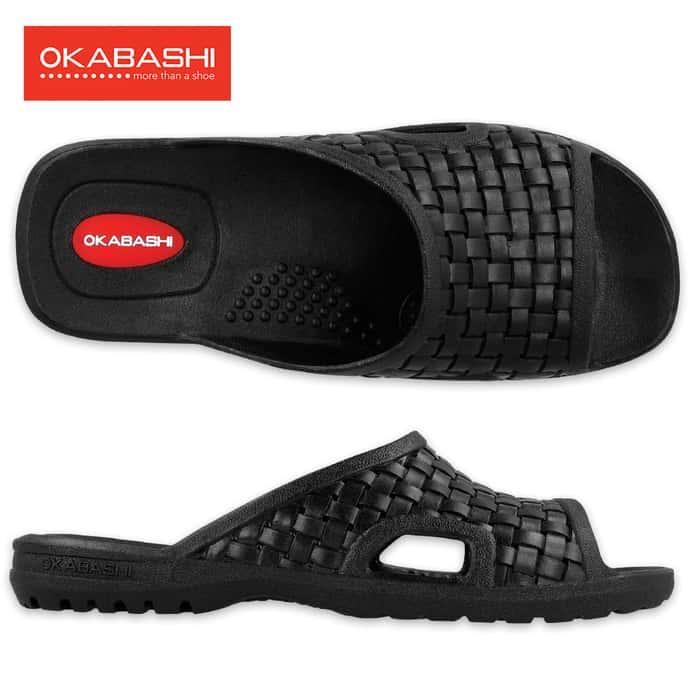 The Okabashi Torino Leisure Shoe Black