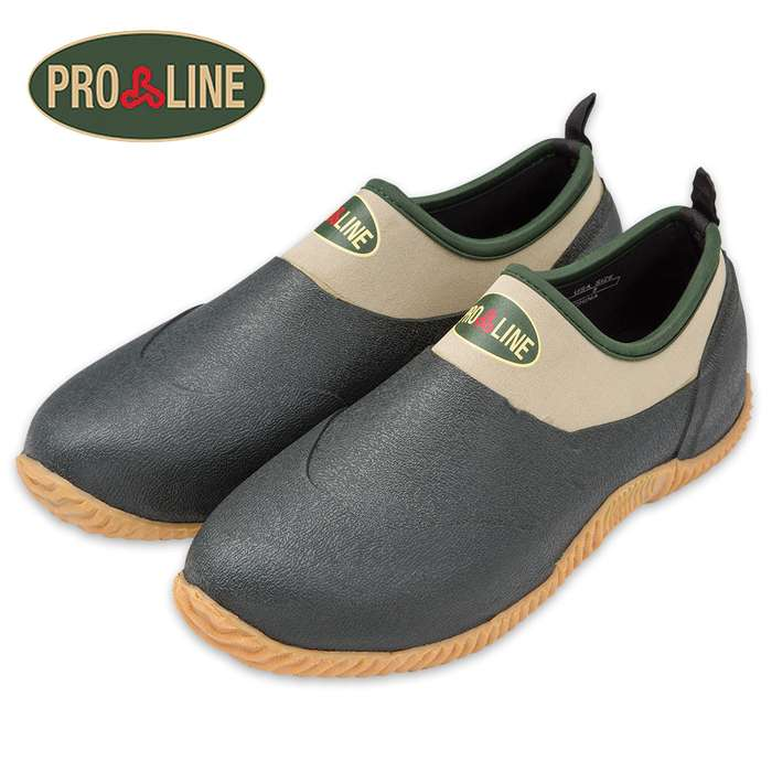 Proline Camper 4 In. Waterproof Slip-On Moccasin
