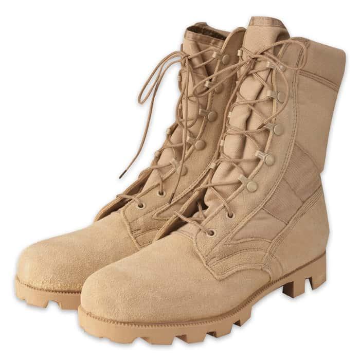 G.I. Type Desert Tan Speedlace Jungle Boots