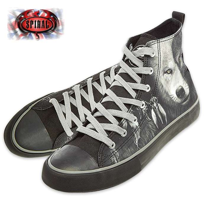 Wolf Chi Men's High-Tops - Lace-Up