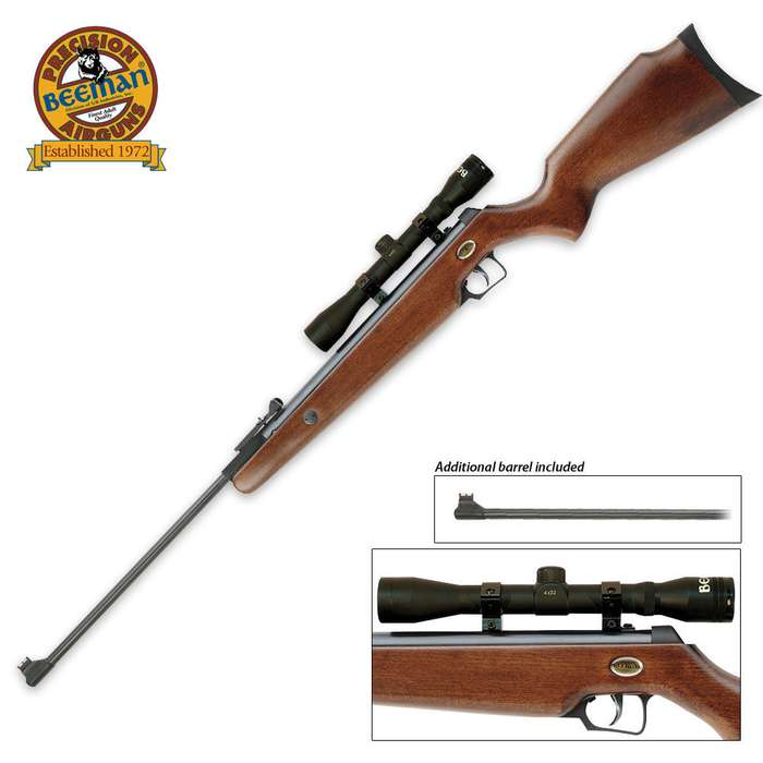 Beeman Grizzly X2 Air Rifle Combo