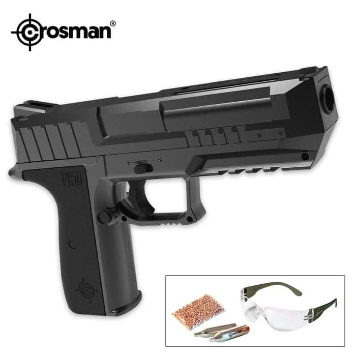 Crosman P15B CO2 Pistol Kit