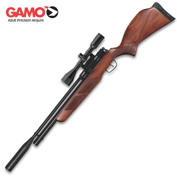 Whisper Fusion Technology incorporates a double integrated sound moderator making it the quietest Gamo air rifle ever