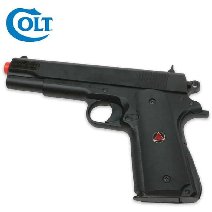 Colt Delta Elite Spring Airsoft Pistol Black