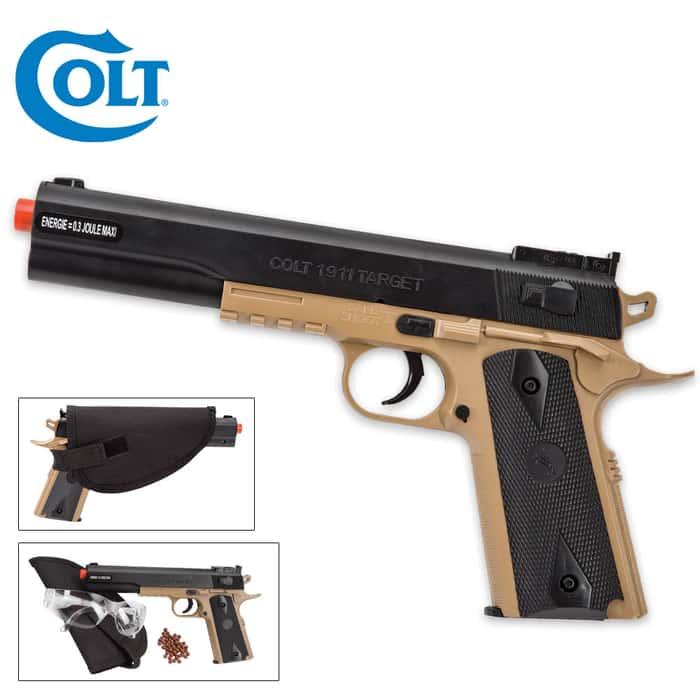 Colt 1911 Airsoft Target Pistol Kit