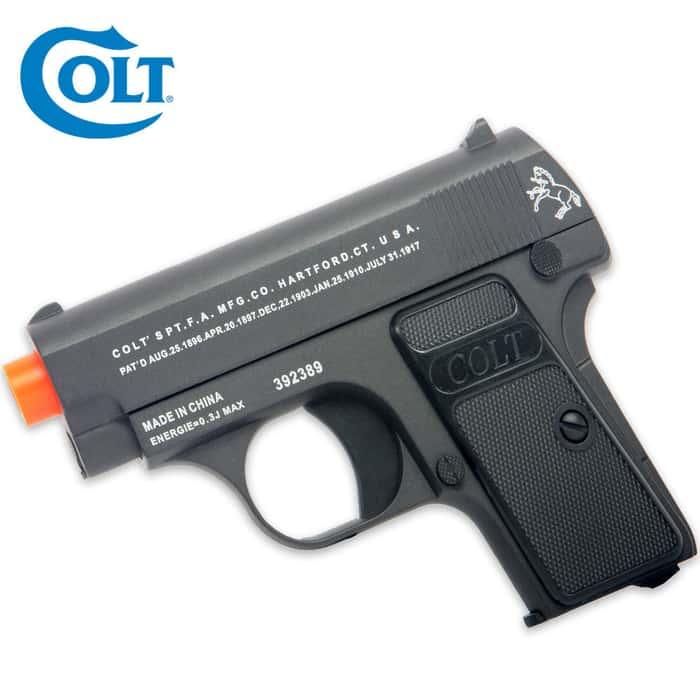 Colt .25 Spring Airsoft Pistol Black