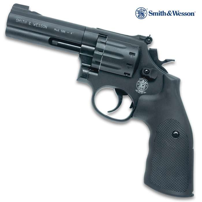 This Umarex Smith & Wesson Air Gun is a complete replica of the legendary Smith & Wesson 357 revolver in both weight and handling