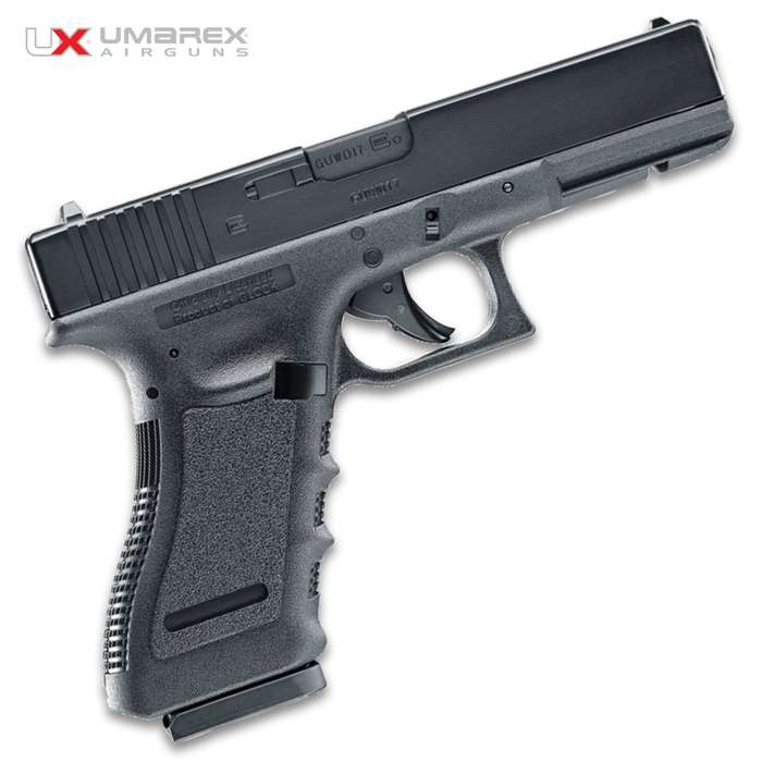 The Umarex Glock 17 Gen 3 BB Pistol is the blowback BB repeater you have been waiting for.
