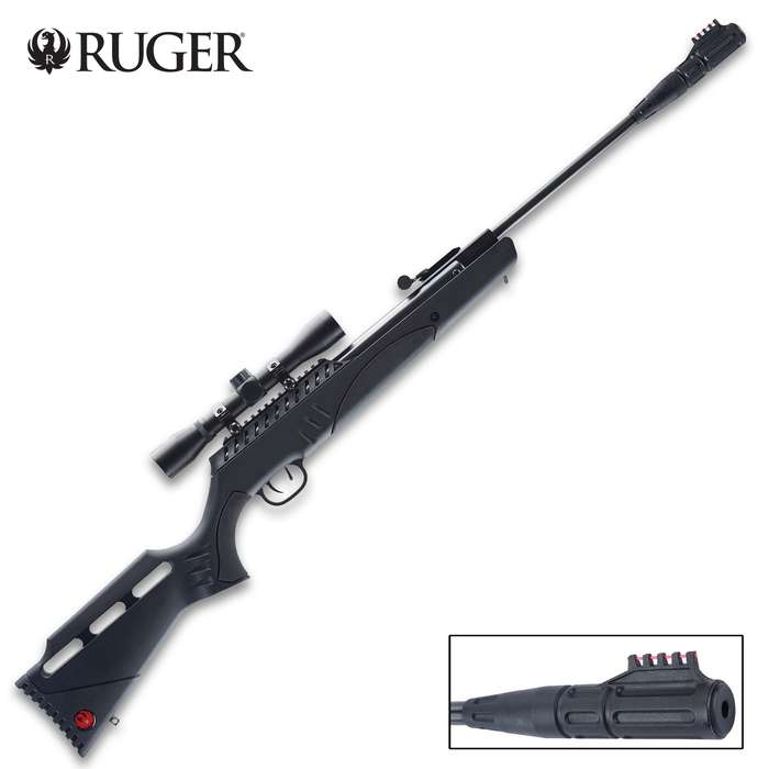 Maximize your small game hunting and target shooting with the Ruger Targis Max Break Barrel Air Rifle