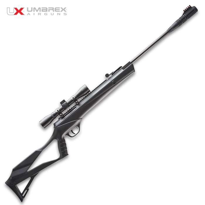 The Umarex Surgemax Elite Air Rifle is an advanced break barrel powerhouse built for popping pests with confidence