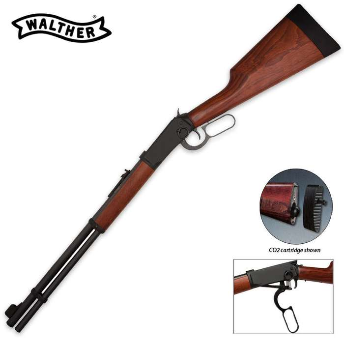 Walther Lever Action .177 Cal Back Pellet Rifle