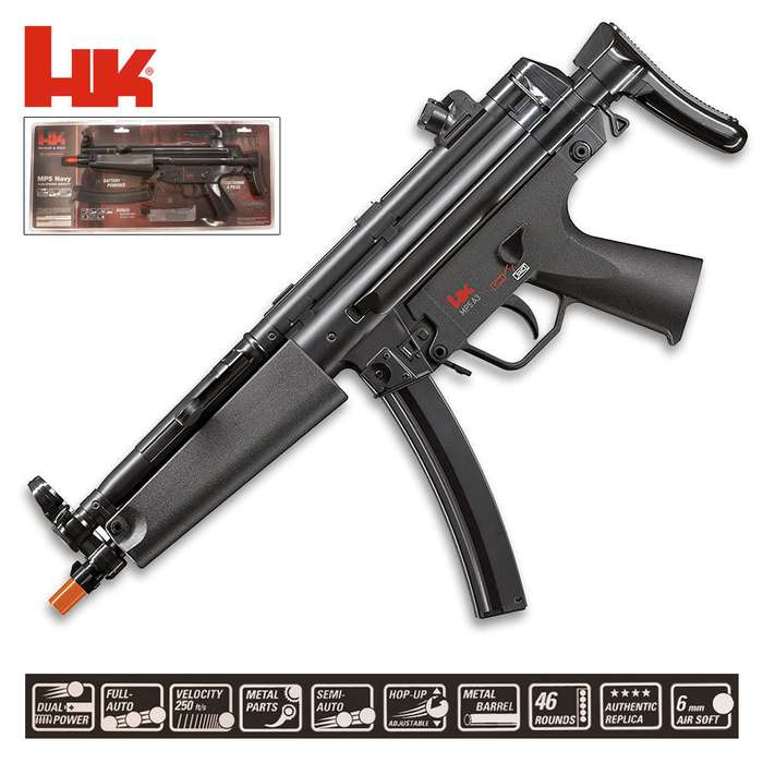 HK MP5 Dual Power Airsoft