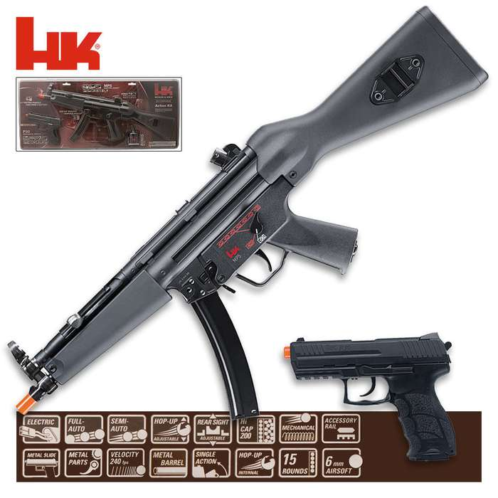 HK MP5 & P30 Airsoft Action Kit