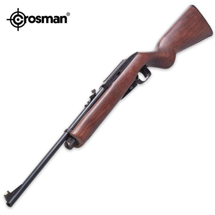 RepeatAir 1077 Wooden Multi-Shot Air Rifle - Semi-Automatic