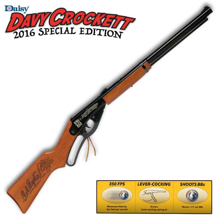 Daisy Red Ryder BB Gun - 2016 Davy Crockett Special Edition - 230th Anniversary