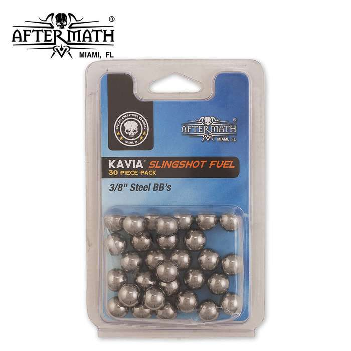 Aftermath Kavia Slingshot Fuel 3/8 Inch BB 30 Count