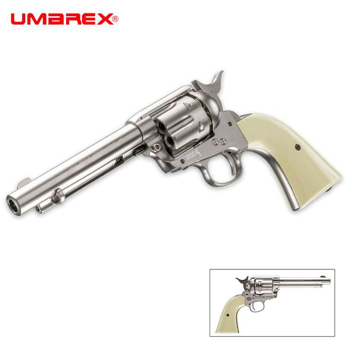 Colt Peacemaker Nickel Air Pistol