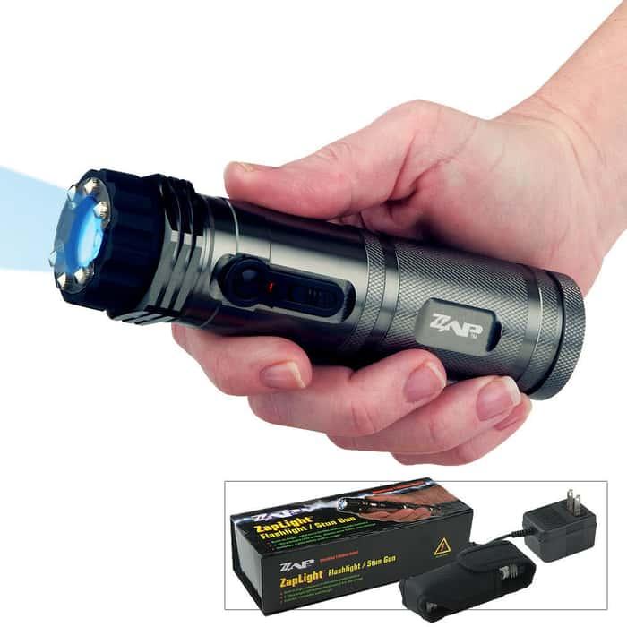 1 Million Volt Zap Light Self Defense Stun Gun Flashlight
