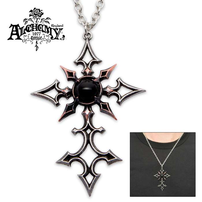 Pewter Chaosifix Necklace
