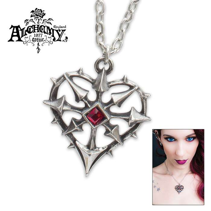 Eight Arrows Of Chaos Necklace