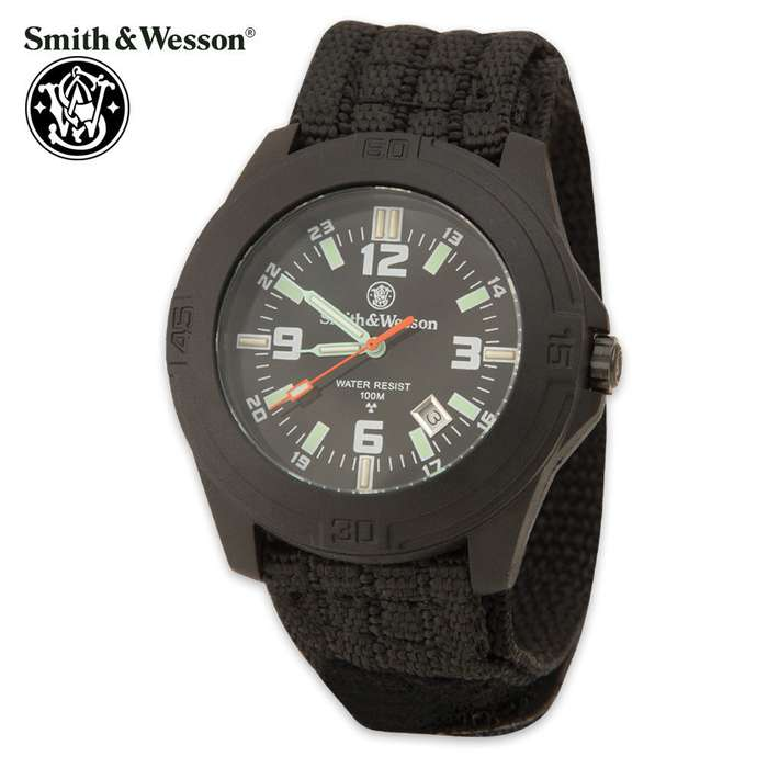 Smith & Wesson Soldier Tritium Watch with Nylon Strap